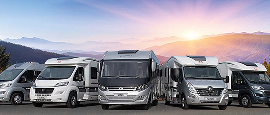 Jetzt bei uns: Die neuen Reisemobile Modelljahr 2016
