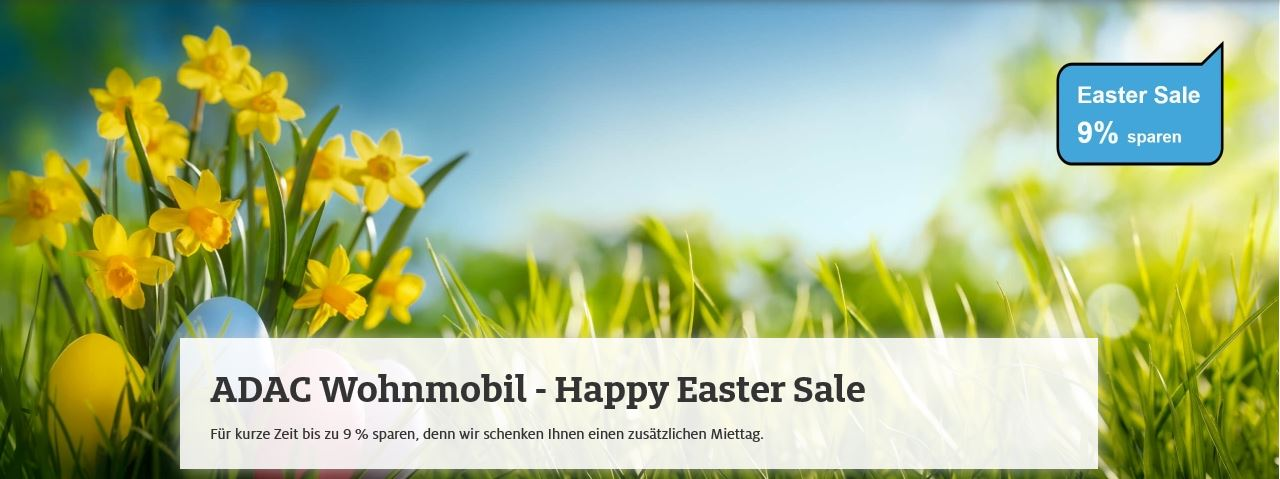 ADAC Happy Easter Sale 2019